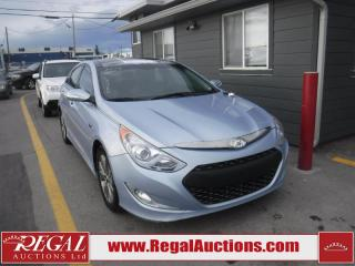 Used 2013 Hyundai Sonata Hybrid 4D Sedan for sale in Calgary, AB