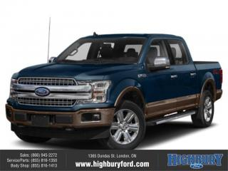 New 2019 Ford F-150 Lariat for sale in London, ON