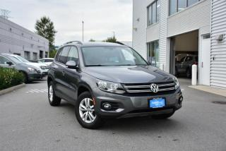 Used 2016 Volkswagen Tiguan Trendline 2.0t 6sp for sale in Burnaby, BC