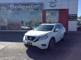 Used 2015 Nissan Murano Platinum AWD LEATHER, NAVIGATIN, PANORAMIC SUNROOF for sale in Belleville, ON
