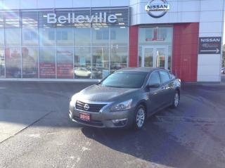 Used 2015 Nissan Altima S 1 OWNER LOCAL TRADE for sale in Belleville, ON