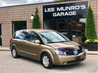 Used 2004 Nissan Quest S with Mobility Seat for sale in Paris, ON