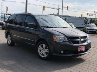 Used 2011 Dodge Grand Caravan Crew Plus**Leather**Dual DVD**NAV for sale in Mississauga, ON