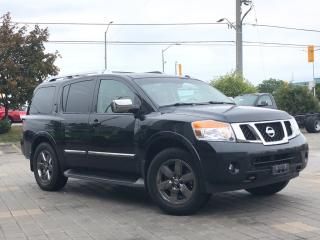 Used 2013 Nissan Armada Platinum**4WD**Leather**NAV**DVD for sale in Mississauga, ON