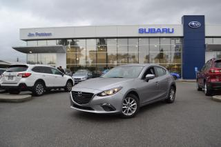 Used 2015 Mazda MAZDA3 Sport GS - 32000KM! NO CLAIMS! for sale in Port Coquitlam, BC