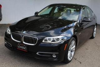 Used 2015 BMW 5 Series 535i xDrive AWD Nav 360 camera Collision assist Lane assist for sale in Mississauga, ON