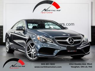 Used 2016 Mercedes-Benz E-Class E400 4MATIC Coupe|AMG Sport|Navigation|360 Camera|Blindspot for sale in Vaughan, ON