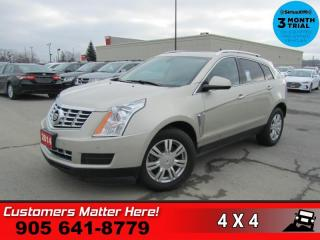 Used 2014 Cadillac SRX Luxury  AWD NAV CUE PANO BOSE P/GATE for sale in St. Catharines, ON