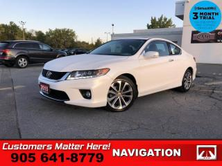 Used 2015 Honda Accord Sedan EX-L V6 w/ Navigation  V6 NAV ROOF for sale in St. Catharines, ON