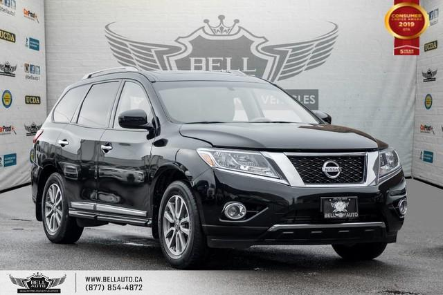 2014 Nissan Pathfinder SL, AWD, BACK-UP CAM, SUNROOF, LEATHER, HEATED SEATS