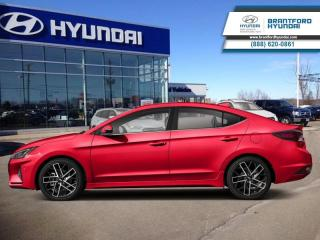 Used 2019 Hyundai Elantra Sport AT  - Sunroof -  Leather Seats - $140 B/W for sale in Brantford, ON