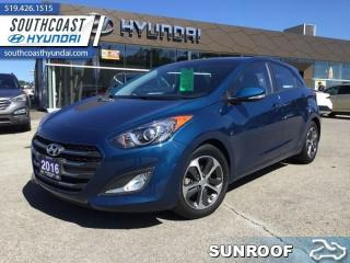 Used 2016 Hyundai Elantra GT GLS Auto  - Sunroof -  Heated Seats - $107 B/W for sale in Simcoe, ON
