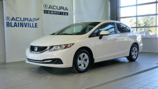Used 2014 Honda Civic LX 4 portes CVT for sale in Blainville, QC