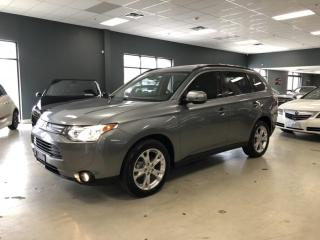 Used 2014 Mitsubishi Outlander GT*LEATHER*NAVIGATION*BACK-UP CAMERA*7-PASSENGER*N for sale in North York, ON