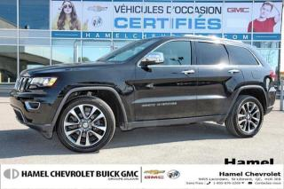 Used 2018 Jeep Grand Cherokee LIMITE * 4X4 * TOIT OUVRANT * CUIR * NAVIGATION for sale in St-Léonard, QC
