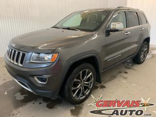 Used 2014 Jeep Grand Cherokee Limited 4x4 V6 GPS Cuir Toit Ouvrant MAGS for sale in Trois-Rivières, QC