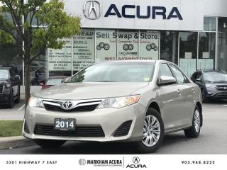 Used 2014 Toyota Camry 4-door Sedan LE 6A (2) Heated Seats, Backup Cam, Bluetooth for sale in Markham, ON