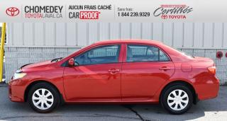 Used 2013 Toyota Corolla CE, AUTOMATIQUE, SEULEMENT 62 000 KM for sale in Laval, QC