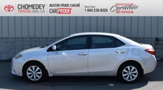 Used 2016 Toyota Corolla LE, AUTOMATIQUE, ** SEULEMENT 45 791 KM ** for sale in Laval, QC