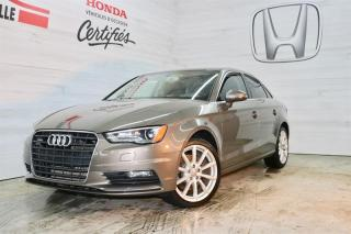 Used 2015 Audi A3 Quattro 2.0T Progressiv for sale in Blainville, QC
