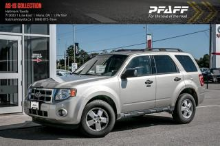 Used 2010 Ford Escape XLT 4D Utility 4WD for sale in Orangeville, ON