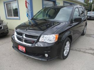 Used 2018 Dodge Grand Caravan FAMILY MOVING CREW EDITION 7 PASSENGER 3.6L - V6.. CAPTAINS.. STOW-N-GO.. NAVIGATION.. LEATHER.. BACK-UP CAMERA.. POWER DOORS & WINDOWS.. for sale in Bradford, ON