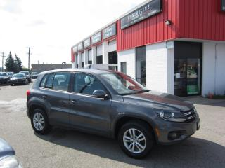 Used 2012 Volkswagen Tiguan S Comfortline $8,995 + HST + LIC FEE / CLEAN CAR FAX REPORT /CERTIFIED for sale in North York, ON