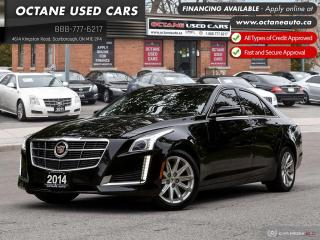 Used 2014 Cadillac CTS 3.6L Luxury Accident-Free! Fully Loaded! for sale in Scarborough, ON