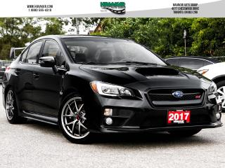 Used 2017 Subaru WRX STI Sport-tech for sale in North York, ON