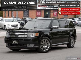 Used 2009 Ford Flex Limited! Navi! B.Up Cam! for sale in Scarborough, ON