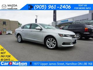 Used 2018 Chevrolet Impala 1LT LT | LEATHERETTE | REAR CAM |  XM RADIO for sale in Hamilton, ON