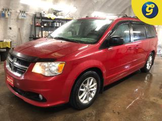 Used 2013 Dodge Grand Caravan SXT * Stow N Go * Power Mid Row Windows/Rear Vents * Dual climate control * Automatic headlights with fog lights * Reverse camera in rearview mirror * for sale in Cambridge, ON
