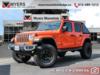 Used 2019 Jeep Wrangler Unlimited Sahara  -  Uconnect - $355 B/W for sale in Ottawa, ON