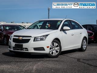 Used 2014 Chevrolet Cruze 1LT- AUTOMATIC, BLUETOOTH, REAR CAMERA, CRUISE CONTROL for sale in Burlington, ON