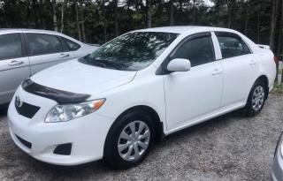 Used 2010 Toyota Corolla 4DR SDN MAN CE for sale in Scarborough, ON