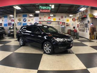Used 2016 Acura MDX SH-AWD TECH PKG 7 PASS NAVI LEATHER SUNROOF CAMERA 76K for sale in North York, ON