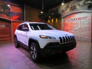 Used 2015 Jeep Cherokee Trailhawk w/ Nav, Htd Lthr & R.Start!! for sale in Winnipeg, MB