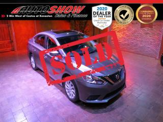 Used 2018 Nissan Sentra SV w/ S.Roof, B.Up Cam, Htd Seats!! for sale in Winnipeg, MB