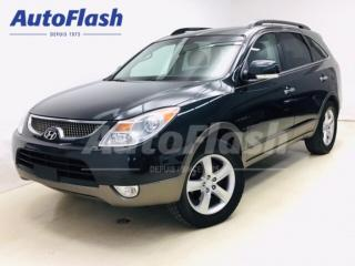 Used 2008 Hyundai Veracruz LIMITED* AWD* Cuir/Leather* Bas kilo!/Low km's!* for sale in St-Hubert, QC