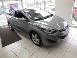 Used 2014 Hyundai Elantra GL COUPÉ MANUELLE TRACTION AVANT A/C MAG for sale in Dorval, QC