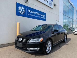 Used 2013 Volkswagen Passat 2.0L TDI DIESEL - HIGHLINE W/ SPORT PKG for sale in Edmonton, AB