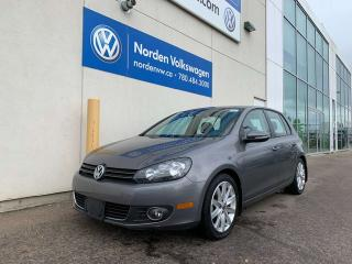 Used 2012 Volkswagen Golf 2.0L TDI HIGHLINE W/ NAVI - LEATHER / SUNROOF for sale in Edmonton, AB