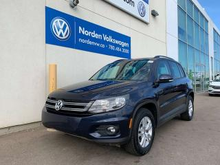 Used 2015 Volkswagen Tiguan TRENDLINE 4MOTION AWD W/ CONVENIENCE PKG for sale in Edmonton, AB