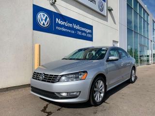 Used 2013 Volkswagen Passat 2.0L TDI TRENDLINE DSG - CERTIFIED for sale in Edmonton, AB