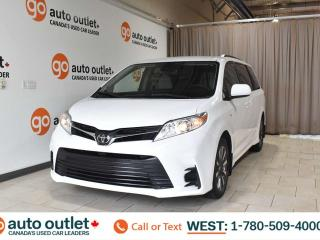 Used 2018 Toyota Sienna Le, 3.5L V6, Awd, Third row 7 passenger seating, Heated cloth seats, Backup camera, Bluetooth for sale in Edmonton, AB