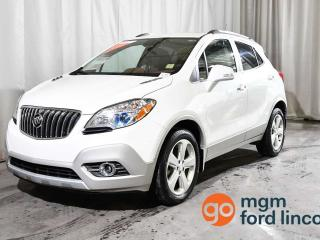 Used 2015 Buick Encore Leather 4dr AWD Sport Utility Vehicle for sale in Red Deer, AB
