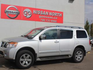 Used 2013 Nissan Armada Platinum Edition/4WD/ONE OWNER/DVD/LEATHER for sale in Edmonton, AB