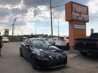 Used 2014 Lexus IS 350 F-SPORT**ONLY 105 KMS**NAV**CAM**LOADED** for sale in London, ON