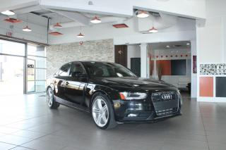 Used 2013 Audi A4 TFSI for sale in Calgary, AB