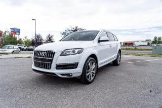 Used 2013 Audi Q7 3.0L Premium for sale in Calgary, AB